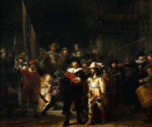 The Nightwatch by Rembrandt van Rijn, 1642