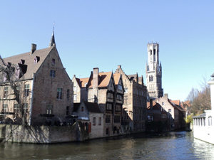 Bruges | in the background the Belfort