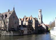 History Trips - A day in the Middle Ages, Bruges | Bruges, in the background the Belfort
