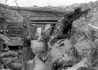 History Trips | Cheshire Regiment trench Somme 1916