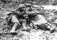History Trips | Canadian- and german soldier during WO I