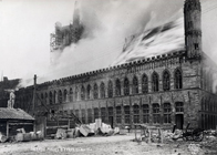 History Trips | Destruction Cloth Hall, Ypres, November 22 1914